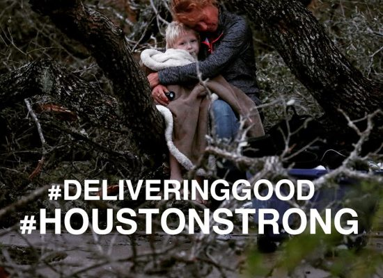 Delivering Good Responds To Hurricane Harvey