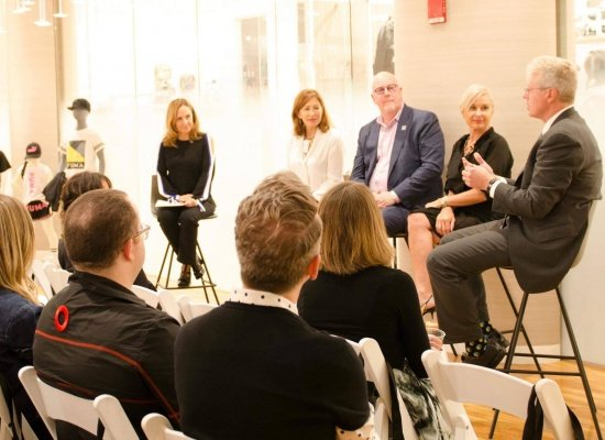 Fashion Industry Gathers In Conversation About Disaster Relief
