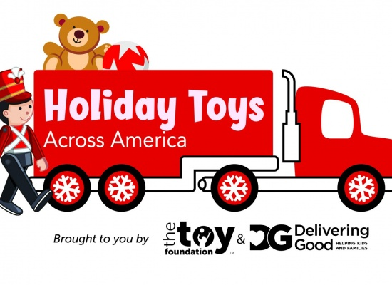 Delivering Good and The Toy Foundation Launch 2019 Holiday Toys Across America Campaign