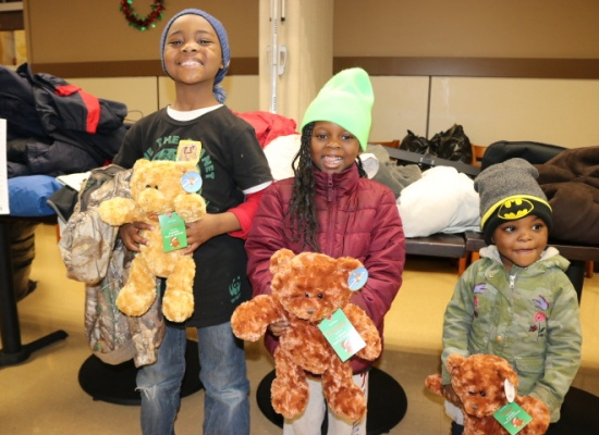 Delivering Good x Burlington: The 13th Annual Coat Drive